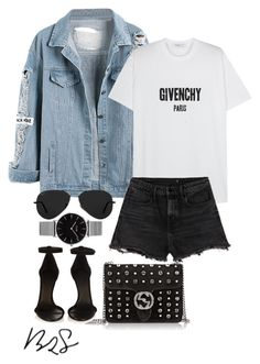 #762 by blendingtwostyles on Polyvore featuring polyvore fashion style Givenchy Alexander Wang Isabel Marant Gucci Topshop Ray-Ban clothing