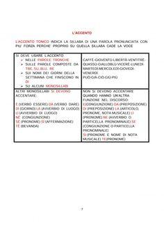 IL RICORDA REGOLE DI ITALIANO CLASSE 4^ | Blog di Maestra Mile Event Ticket, Education, Blog, Alphabet, Classroom, June, Teaching, Onderwijs, Learning