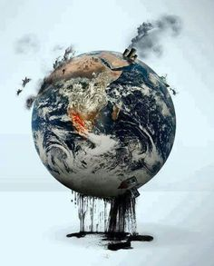 When we begin to destroy the very thing that gives us life, we become the infection, the cancer to our own world. | #EMA #Environment