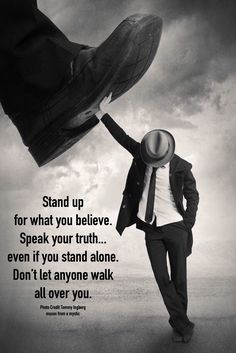 If you don't stand for something you'll fall for anything. Wisdom Quotes, True Quotes, Great Quotes, Words Quotes, Quotes To Live By, Motivational Quotes, Inspirational Quotes, Karma Quotes, Meaningful Quotes