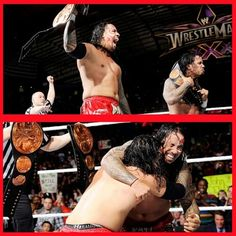 Jimmy & Jey USO as your new wwe Tag team champion