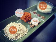 Fall Pumpkin Oatmeal Ingredients | peak313.com