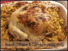 Holiday Cornbread Stuffing {gluten-free recipe}- Little Natural Cottage