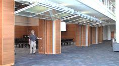 Hydrau-Lift™ Bifold Doors from Hufcor -- Duke University