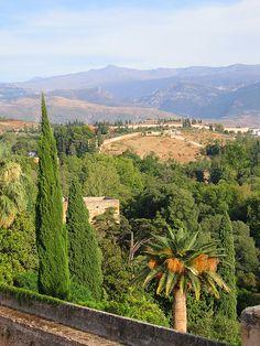 Alcazaba, Alhambra, Granada, Sierra Nevada, Spain. http://www.costatropicalevents.com/en/costa-tropical-events/andalusia/cities/granada.html