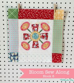 March Bloom Sew Along Recap with Lori Holt of Bee in my Bonnet - Fat Quarter Shop's Jolly Jabber