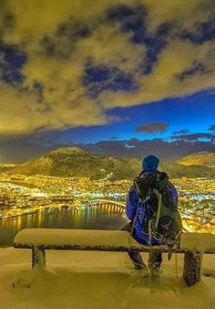 Winter in Bergen, Norway. Photography by Espen Haagensen.