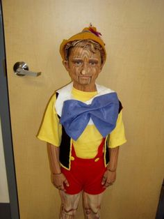 My son as Pinocchio (for my Disney audition)