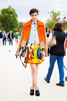 30 Inspiring Street Style Looks From Paris Fashion Week