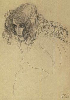 Klimt sketch