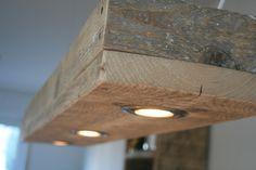Hängelampen - Hängelampe aus altem Bauholz - ein Designerstück von Linnards bei DaWanda