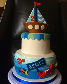 Cake Dreamers Dubai Sea Themed Cake