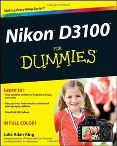 Nikon D3100 For Dummies $16.82