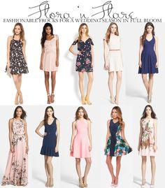 Summer dress attire garden