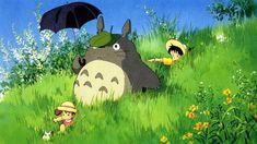 Studio ghibli creates gorgeous hand-made totoro reproduction cels for fans and collectors【video】 Goosebumps Monsters, K Om, Monster Drawing, Secret Life Of Pets, My Neighbor Totoro, Couple Art, How Train Your Dragon, Studio Ghibli, Pikachu