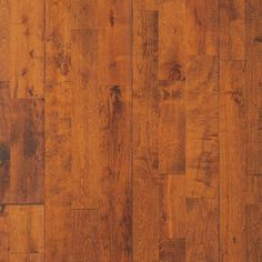 """Camel from our Reclamation Plank Collection by Heritage Woodcraft is a hand-scraped (7-7/8"""") wide-plank solid birch hardwood flooring. It's solid construction and wide plank width is achieved by finger-joining three sections of solid birch hardwood together prior to the hand-sculpting of the plank."""