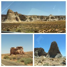 Sights along the 89 across the southern side of Utah