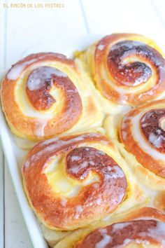 Comparte Recetas - Rollitos de crema My Recipes, Sweet Recipes, Dessert Recipes, Cooking Recipes, Favorite Recipes, Cupcake Cakes, Cupcakes, Pan Dulce, Croissants