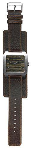 Dakota 72094 Wood Worn Mod Band Watch -
