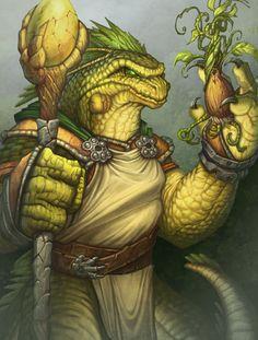 m Dragonborn Druid DRAGONKIN – Life Master | bigchrisartblizzard