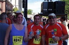 2010 - CVS 5k, first road race. with Phil and Dad.
