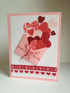 Kid's Crafts « Diy and Craft Valentine Love Cards, Valentines Day Greetings, Valentine Crafts, Valentine's Cards For Kids, Homemade Valentines, Creative Cards, Anniversary Cards, Greeting Cards Handmade, Homemade Cards