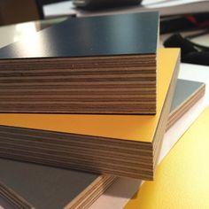 Samples for a big office kitchen we've been commissioned to design and make. #ply #polyrey #formica #carpentry #media #woodshop #design #makers #doers #branding #bristol #workshop #birch #iroko by murrayandballfurniture