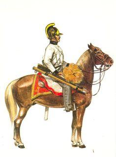 Dragons Rgt Archiduc Jean-Austerlitz - 1805