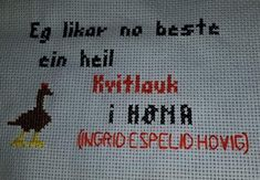 Funny Pictures, Cross Stitch, Textiles, Embroidery, Humor, Sewing, Creative, Quotes, Crafts