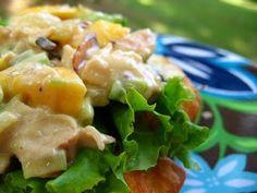 Teriyaki Chicken Salad Sandwiches