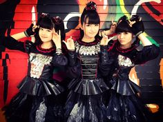 Tonight! BABYMETAL will be performing on The Late Show w/ Stephen Colbert at 11:35/10:35C on CBS! #BABYMETAL