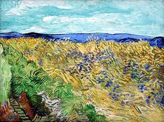 Vincent van Gogh, Wheat Field With Cornflowers, 1890