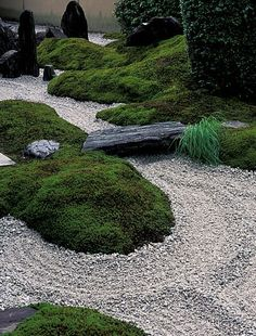 Japanese Gardens - Natural Landscaping, Gardening, and Landscape Design in the Catskills and H. Zen Rock Garden, Modern Garden Design, Dream Garden, Landscape Design, Rocks Garden, Modern Japanese Garden, Japanese Garden Landscape, Japanese Gardens, Zen Gardens