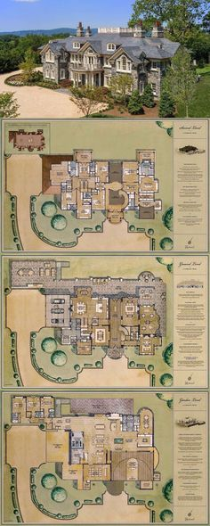 New House Plans Mansion Kitchens Ideas House Plans Mansion, Sims House Plans, Dream Mansion, Castle House Plans, Castle Floor Plan, Mansion Houses, Mansion Rooms, Luxury Floor Plans, Luxury House Plans