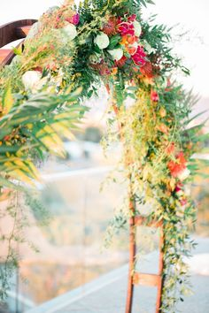 This Colorful Boho Wedding Will Give You Serious Inspo via Brit + Co