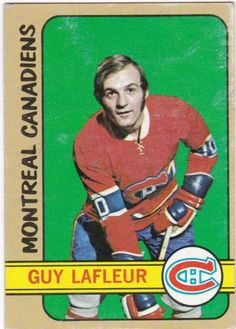 Guy LaFleur 1972 O-Pee-Chee Montreal Canadiens Montreal Canadiens, Hockey Cards, Baseball Cards, Hockey Hall Of Fame, Nhl Season, Nhl Players, Canada, Sports Figures, Athletic Men