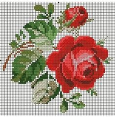 Embroidery stitches cross patterns 42 Ideas for 2019 Cross Stich Patterns Free, Cross Stitch Charts, Cross Stitch Designs, Free Pattern, Pattern Ideas, Embroidery Flowers Pattern, Embroidery Patterns Free, Loom Patterns, Embroidery Designs