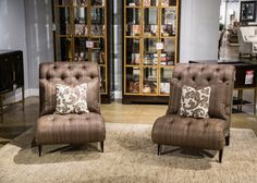 Image of Pair of Addison Lounge Chairs