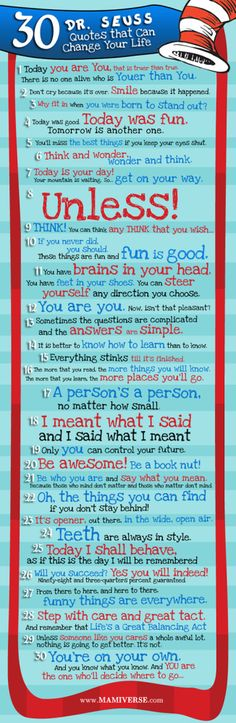 May#10 30 Dr. Suess Quotes That Can Change Your Life [Infographic]