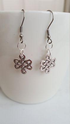 Celtic Shamrocks Gaelic Irish Shamrock Earrings Celtic