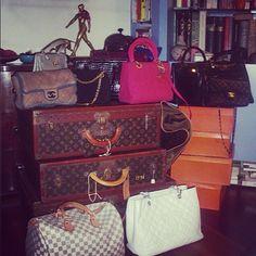 Préparation Vente de mode #encheres #mode #luxe  #maroquinerie #vuitton #chanel #hermes #lacparis