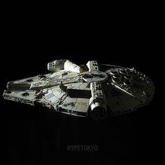 Star Wars Bandai 1/144 Plastic Model : Millennium Falcon (The Last Jedi Ver.)  #starwars #millenniumfalcon #bandai #plasticmodel #hypetokyo