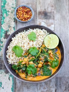 10 min curry bowl