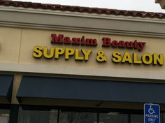 Beauty Supplies and Salon
