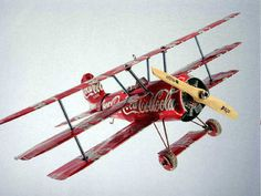 Upcycle Us: Airplane made from soda cans (part2)