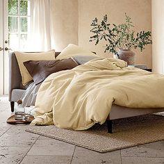 Weekender Comforter/Duvet Cover & Shams In Blue Horizon Luxury Duvet Covers, Luxury Bedding Sets, Bed Design, House Design, Comforter Cover, Dream Bedroom, My Dream Home, Bed Spreads, Comforters