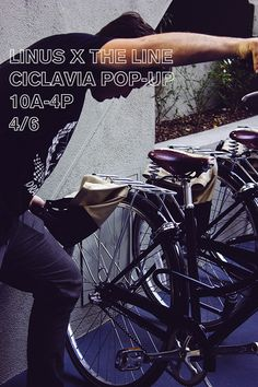 Maintenance and Pop-up shop by Linus Bike + Bike valet. Sunday April 6th on Wilshire And Normandie. Ride out. #CicLAvia