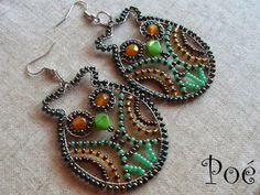 Collection of Fun Wire Wrapped Owl Jewelry Tutorials ~ The Beading Gem's Journal