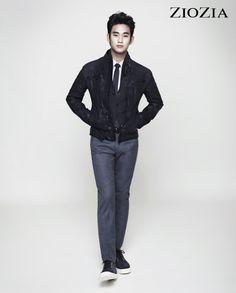 Kim Soo Hyun (김수현) for ZIOZIA (지오지아) 2012 F/W #3 #KimSooHyun #SooHyun #ZIOZIA
