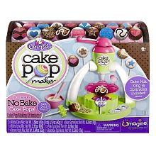 """Cool Baker Cake Pop Maker - Spin Master - Toys """"R"""" Us 20 makenna Easy Bake Ultimate Oven, Dessert Makers, Cake Pop Maker, Baker Cake, White Cake Mixes, Just Cakes, Cake Icing, All Toys, Kids Toys"""